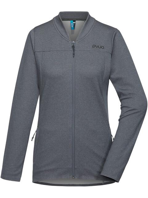 PYUA Glare Jacket Women grey melange